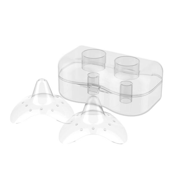 Силиконовые накладки на соски BabyOno Natural Nursing, размер М (823/М)