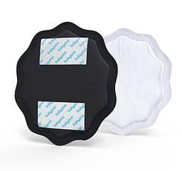 Прокладки лактационные BabyOno Natural Nursing, черный, 24 шт. (298/02)