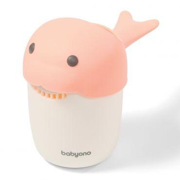 Кружка для мытья головы BabyOno Whale, розовый (1344/03)