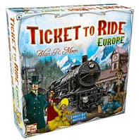Настольная игра Ticket To Ride Europe (Билет на поезд - Европа) (английская версия + русская инструкция), фото 1