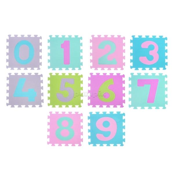 Игровой коврик-пазл BabyOno Цифры, 10 шт. (274/02)