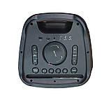 Колонка акумуляторна ZXX partybox c радіомікрофонами (250W/USB/BT/FM), фото 8