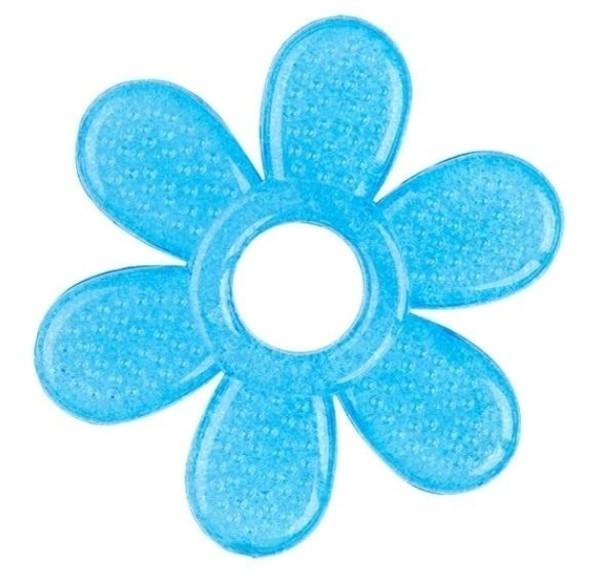 Прорезыватель BabyOno Цветочек, синий (1060)