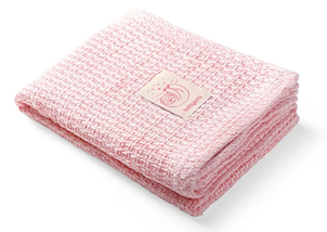 Бамбуковое одеяло BabyOno Ленивец, 100х75 см, розовый (479/01)