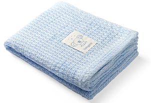 Бамбуковое одеяло BabyOno Коала, 100х75 см, голубой (479/02)