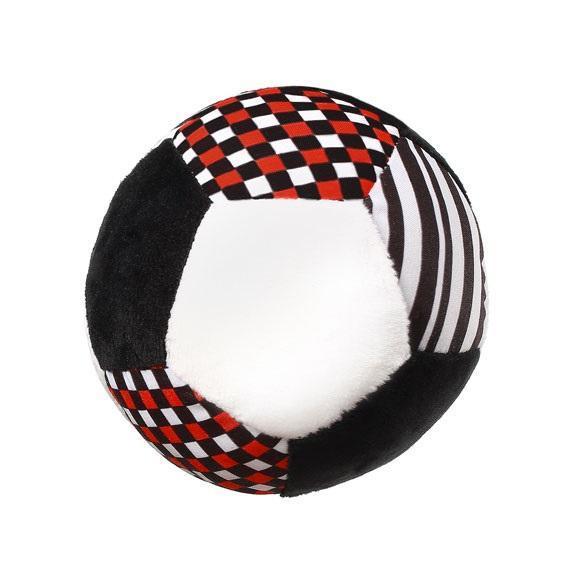 М'яка іграшка BabyOno Контрастний м'яч, 12 см (638)