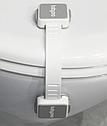 Универсальная блокировка для мебели BabyOno, 2 шт., серый (945), фото 3