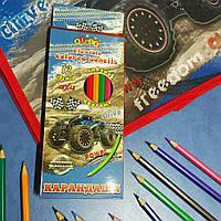 Карандаши цветные KIDIS гибкие 12 цветов