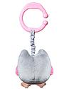 Игрушка-обнимашка BabyOno Сова, с вибрацией, розовый (442), фото 3