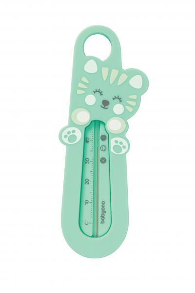 Термометр для ванной BabyOno Котенок, зеленый (777/04)