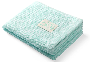 Бамбуковое одеяло BabyOno Лама, 100х75 см, мятный (479/03)