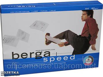 Офисная бумага BERGA 80г А4 500л
