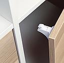 Магнитный блокиратор для мебели BabyOno, 4 шт., белый (946), фото 2