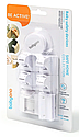 Магнитный блокиратор для мебели BabyOno, 4 шт., белый (946), фото 4