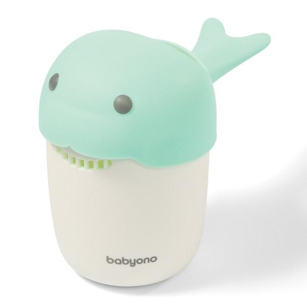 Кружка для мытья головы BabyOno Whale, бирюзовый (1344/02)