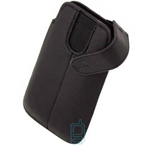 Чехол-футляр с застежкой Samsung Star S5230 черный, фото 2