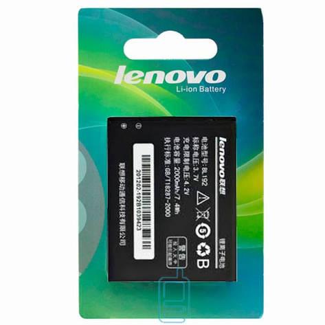 Аккумулятор Lenovo BL192 2000 mAh A680, A526, A590 AAA класс блистер, фото 2
