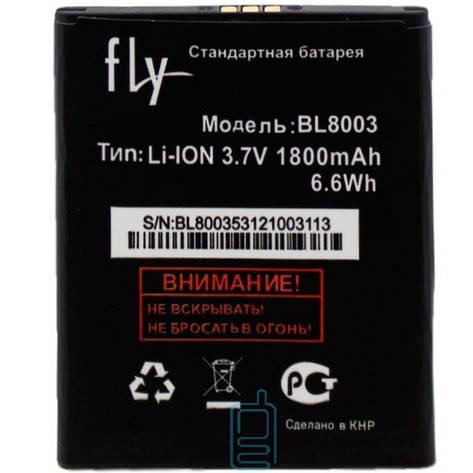 Аккумулятор Fly BL8003 1800 mAh IQ4491 AAA класс тех.пакет, фото 2