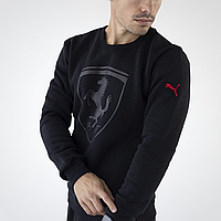 Мужской свитшот Puma Ferrari черный