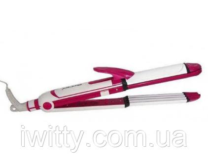 Утюжок  стайлер для волос 3 в 1 Gemei GM-2921