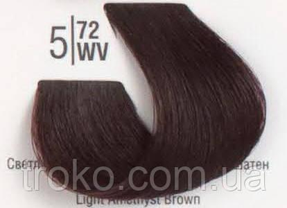 Краска для волос Spa master professional 5/72WV Светлый коричневый перламутровый шатен 100 мл