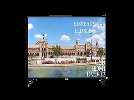 """Современный Телевизор Liberton 17"""" HD-Ready+DVB-T2+USB"""