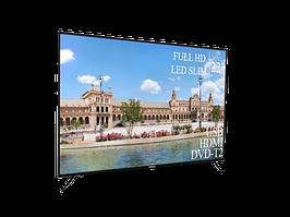 """Современный Телевизор Liberton 22"""" FullHD+DVB-T2+USB (1080р)"""