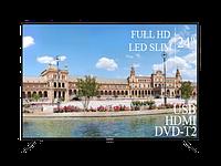 """Современный Телевизор Liberton 24"""" FullHD+DVB-T2+USB, фото 1"""