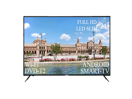 "Современный Телевизор Liberton 24"" Smart-TV+Full HD+DVB-T2+USB"