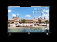 """Современный Телевизор Liberton 28"""" FullHD+DVB-T2+USB, фото 1"""