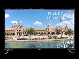 "Современный Телевизор Liberton 42"" FullHD+DVB-T2+USB"