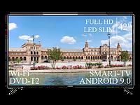 "Современный Телевизор Liberton  42"" Smart-TV+Full HD+DVB-T2+USB Android 9.0, фото 1"