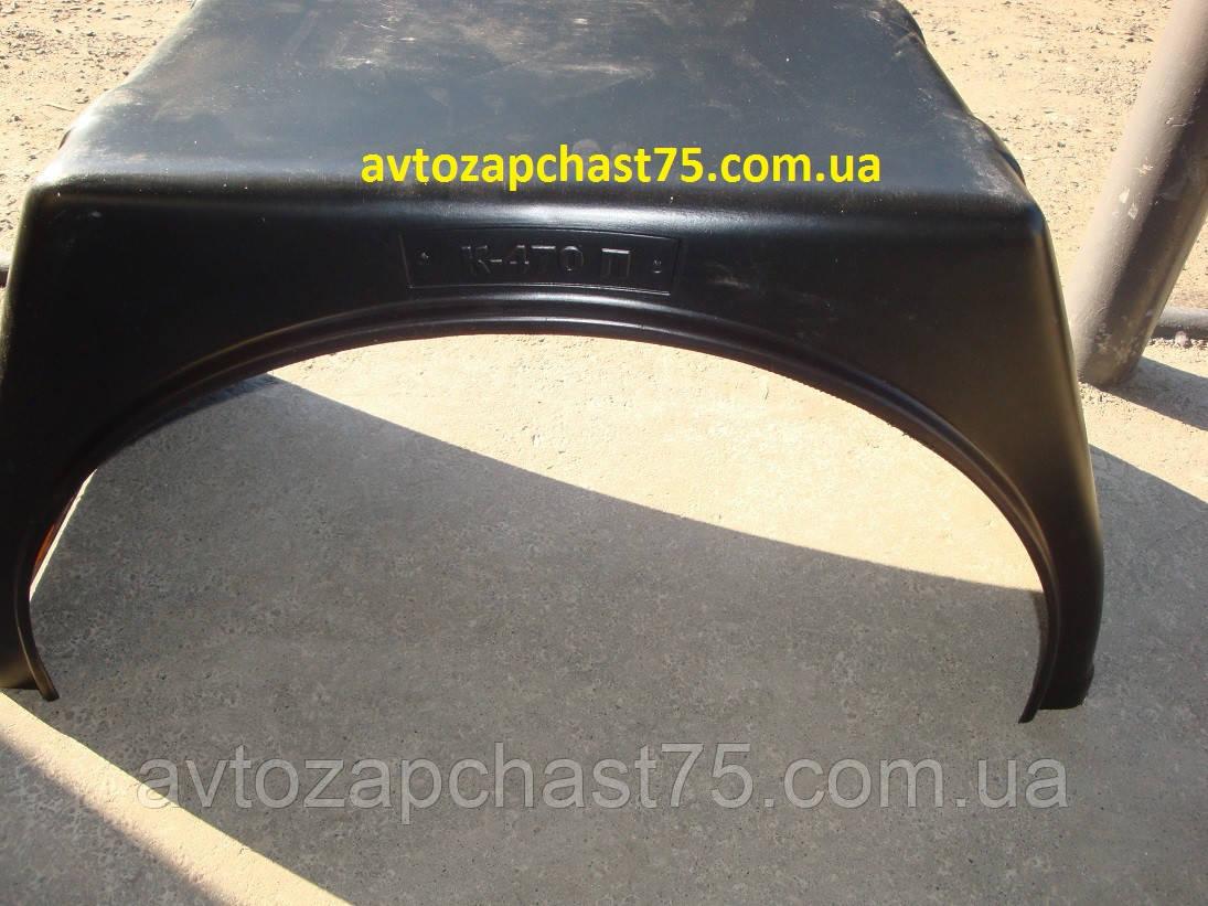 Підкрилок Газель, Газ 3302, Газель бортова (пластик, До 470) виробник Санкт-Петербург, Росія