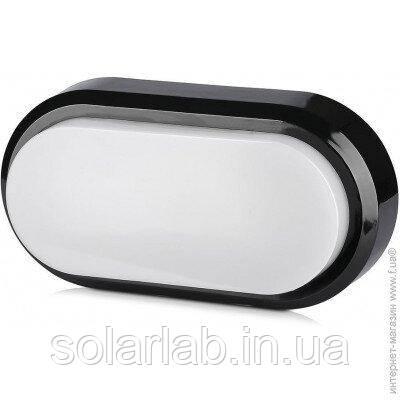 Светильник фасадный LED V-TAC, 8W, SKU-1308, Rectangle Oval Dome, 230V, 3000К, ІР54, черный