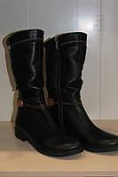 Сапоги кожаные женские от производителя 36-41 р