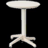 Стол с откидной столешницей Tilia Moon d60 см кремовый, фото 1