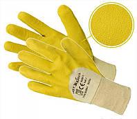 Перчатки защитные Artmas RGSe kat.1, желтый