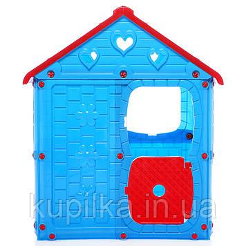 Детский игровой домик (8103) голубой
