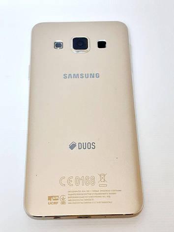 Корпус золотий Samsung A300F Galaxy A3, A300FU Galaxy A3, A300H Galaxy A3Original б.у., фото 2