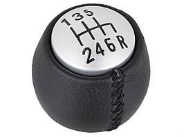 Alfa Romeo 166 98-07 ручка переключения передач черный + серебристый 6 передач, арт. DA-19379