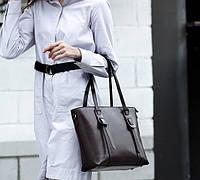 Женская сумка из натуральной кожи С75, фото 1
