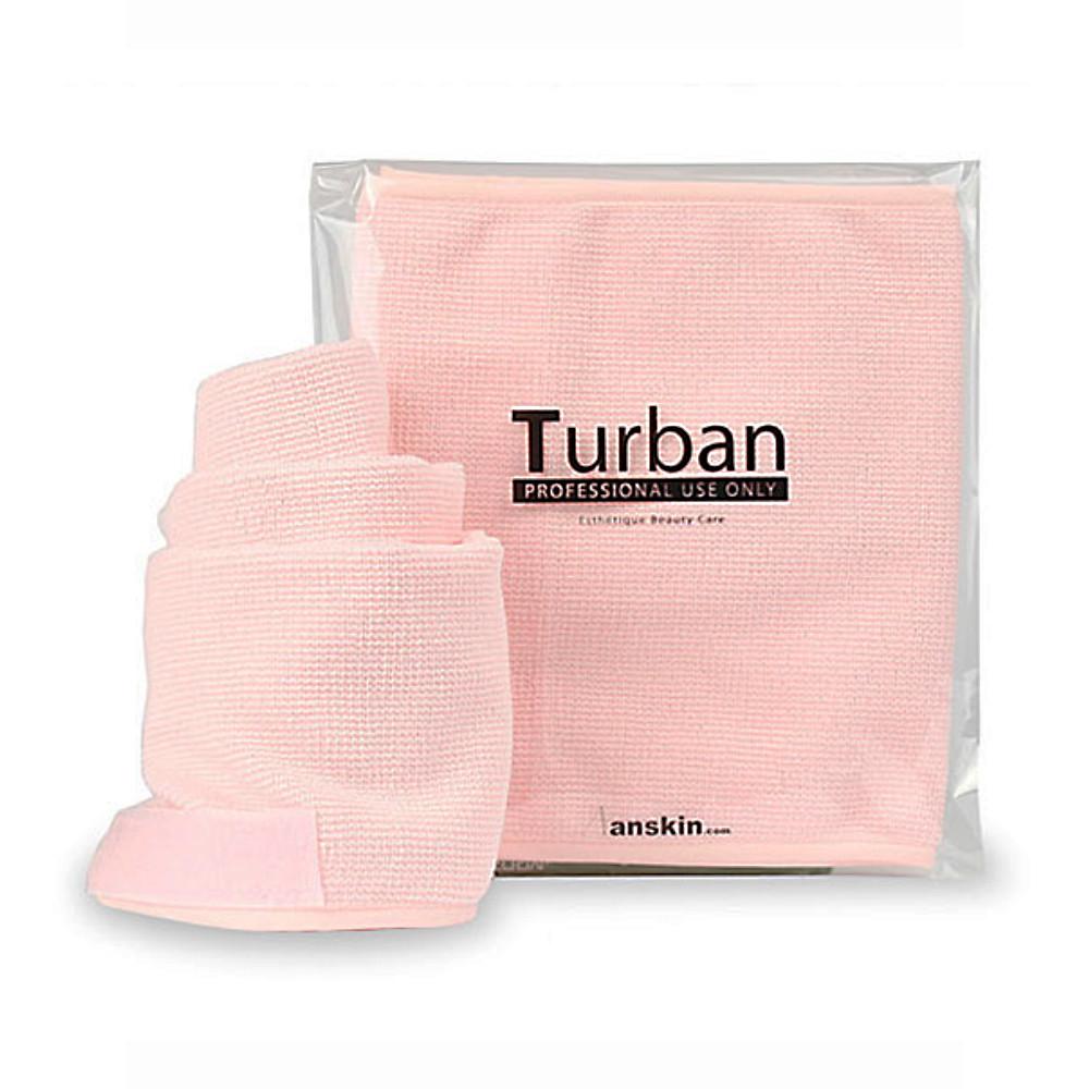 Повязка для волос-тюрбан Anskin Turban Pink 1 шт