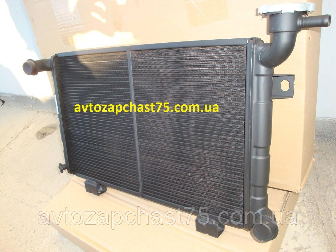 Радиатор Нива, ваз 2121, медный ,1 рядный (Производитель завод Оренбургский радиатор, Россия)