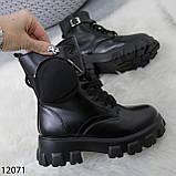 Ботинки женские зимние черные А12071, фото 2