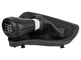 BMW 5 E60 / E61 02-10 ручка переключения передач черный цвет 6 ступка + чехол, арт. DA-21121