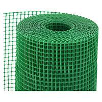 Сетка заборная пластиковая ячейка 20мм.*20мм. (квадрат/1 м.*20 м.)