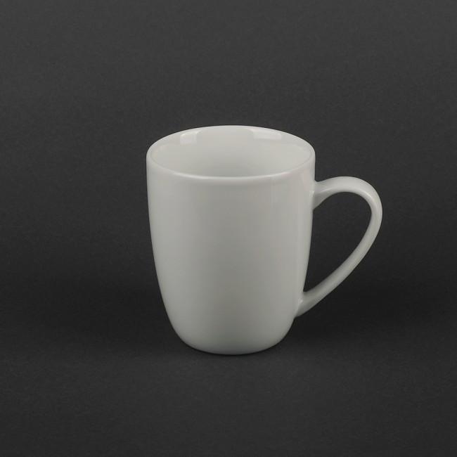 Чашка белая фарфоровая 300мл