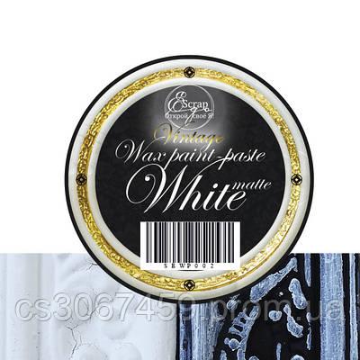 "Воскова  фарба-паста VINTAGE ""White Matte"""