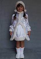 Детский карнавальный костюм для девочки Снегурочка№3, фото 1