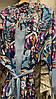 Костюм кимоно+майка+брюки шелк Армани, оптом (Турция), фото 4